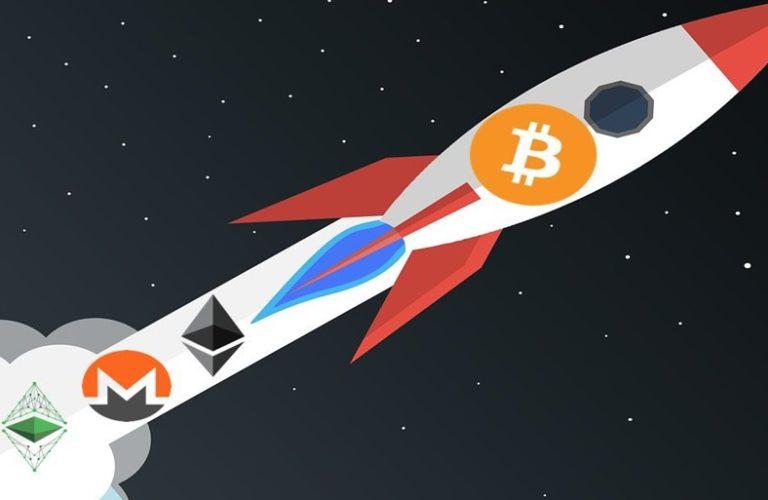 Bitcoin decolando